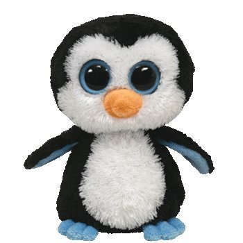 Valentines Day Beanie Baby - Ty Beanie Boos - Waddles - Penguin