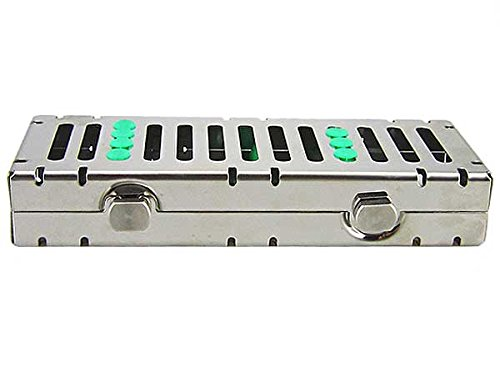 Airgoesin 5 Slot Sterilization Cassette Rack for 5 Dental Surgical Instrument Autoclavable