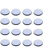 Pack van 16 Teflon Meubelglijders, Vloerbeschermers voor Meubels Easy Movers, Stoel Glides, Houten Vloeren Glides, Sliders