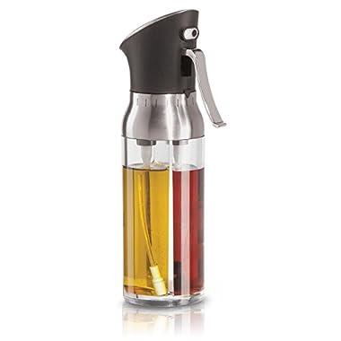 Vina's Olive Oil and Vinegar Dispenser - The Fast Easy 2 in 1 Kitchen Tool