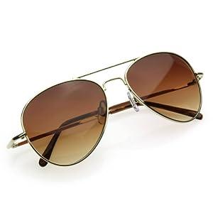 zeroUV - Small Classic Aviator Sunglasses 50mm Aviators