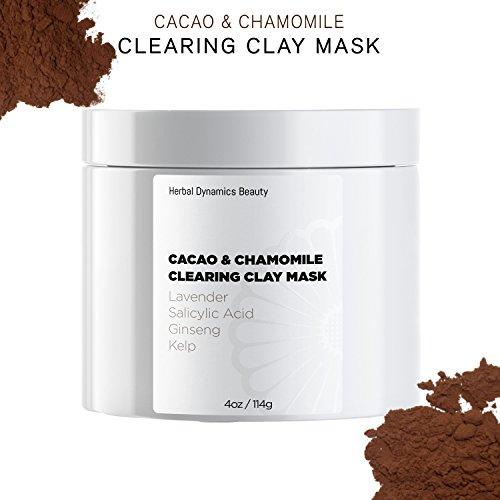 HD Beauty Cacao Clearing Acne Face Mask - Bentonite Clay, Sa