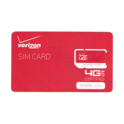 Verizon Wireless Standard Mini Card