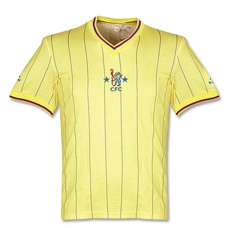 81 – 83 Chelsea camiseta de fútbol – used, hombre, amarillo