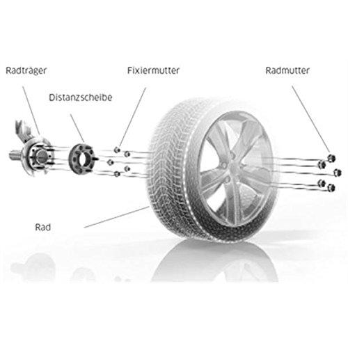 TuningHeads//H/&R .0223302.DK.70105953.SORENTO-TYP-JC Spurverbreiterung 70 mm//Achse 70 mm//Achse
