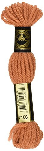 DMC Tapestry and Embroidery Wool, 8.8-Yard, Color 7166, 10-Pack Dmc Tapestry Wool Skein
