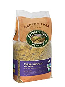 Nature's Path Organic Gluten-Free Cereal, Mesa Sunrise with Raisins, 29.1 Ounce Bag (Pack of 2)
