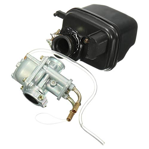 Carburetor And Air Filter Box Fit For Yamaha PEEWEE PW50 PY50 Quad Bike:
