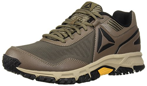 Reebok Men's Ridgerider Trail 3.0 Walking Shoe, Trek Grey/Khaki/Coal/ash, 10.5 M US