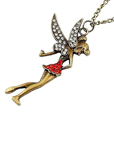 Buy young forever tinkerbell pendant fairytale necklace for women young forever tinkerbell pendant fairytale necklace for women aloadofball Images