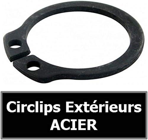 sachet de 10 en ACIER  CIRCLIPS EXTERIEURS ACIER pour arbre//axe Looxe CIRCLIP 9.00 mm Exterieur