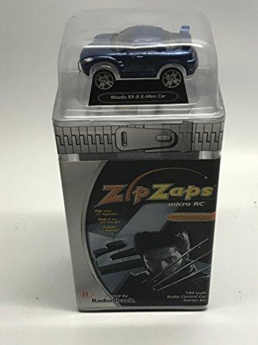 Zip Zaps 1:64 Scale Radio Control Car Starter Kit-Mazda RX-8 X-Men Wolverine Car