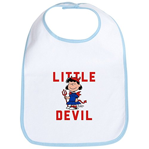 CafePress Peanuts Halloween Devil Cute Cloth Baby Bib,