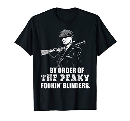 - By Order Of The Peaky Fookin T Shirt Blind-ers For Men