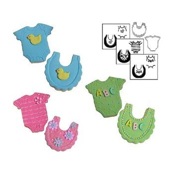 This Item Country Kitchen Mini Baby Cookie Cutter Texture Set