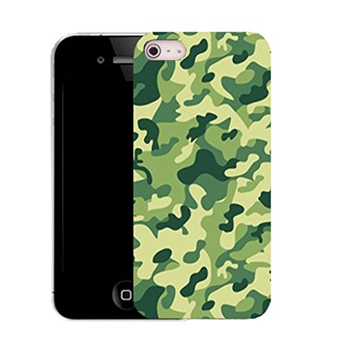 Mobile Case Mate IPhone 5 clip on Silicone Coque couverture case cover Pare-chocs + STYLET - swamp cammy pattern (SILICON)