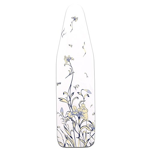 Household Essentials Ultra Ironing Board Cover, Iris ()