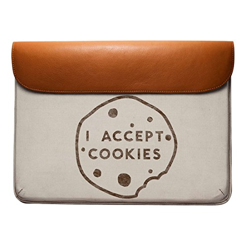 Real 13 Leather Pro For Envelope DailyObjects Currency Air Sleeve MacBook Cookie 1Eqpvpw