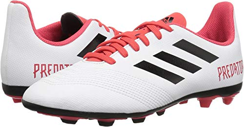 adidas Unisex-Kids Ace 18.4 Fxg J, White/Core Black/Real Cor