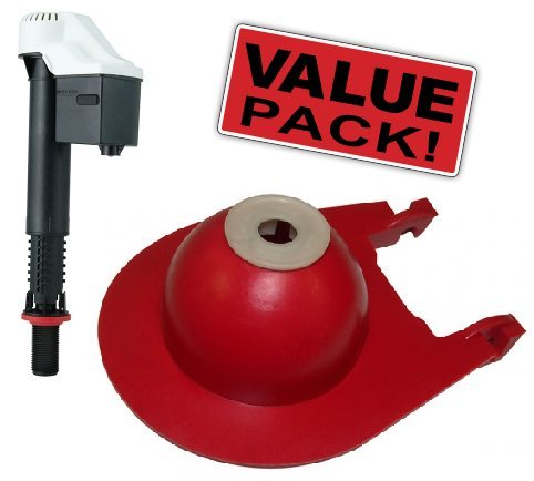Korky Combo Pack - (1) Korky 528 Quiet Fill Valve and (1) Korky 3040BP Flapper by Korky (Image #3)