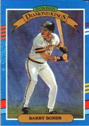 Amazoncom 1991 Donruss Barry Bonds Diamond Kings Baseball