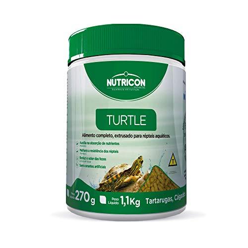Turtle 270gr Nutricon Para Tartaruga Aquática Adulto