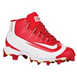 Nike Kids Huarache 2K Filth Keystone Baseball Toddler/Little Kid/Big Kid University Red/Volt/White Kids Shoes