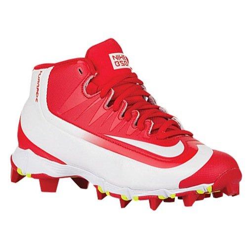 Nike Boy's Huarache 2KFilth Keystone (GS) Baseball Cleat Black/Volt/White Size 6 M US