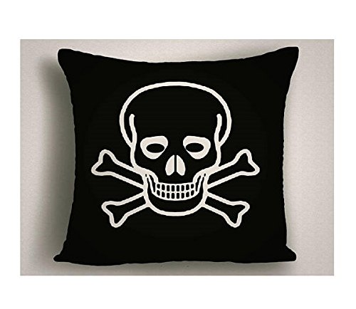 Halloween Throw Pillow Skull with Glasses | Halloween Decor | Halloween Throw Pillows | Halloween Decorations | Halloween Pillow Covers