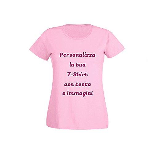 Donna Con T TestoFoto Rosa Altra Marca Personalizzata shirt E Immagini DH9EWIY2