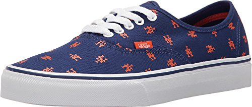 Vans Unisex MLB Authentic New York Mets/Blue Sneaker - 11.5