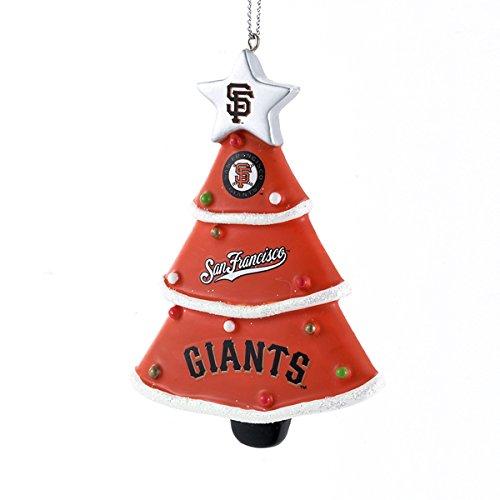 San Francisco Giants Orange Tree Christmas Ornament Major League Baseball MLB