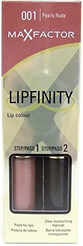 New Max Factor Women Make Up Lipfinity 001 (pearly Nude) Colour/paint For Lips by Max Factor (Max Factor Lipfinity Lip Paint)