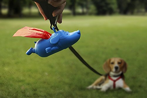 Mighty perro por OTOTO dispensador de bolsas para ...