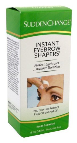 Sudden Change Eyebrow Shapers 18's Pre-cut Sets