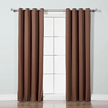 Best Home Fashion Thermal Insulated Blackout Curtains Amazon