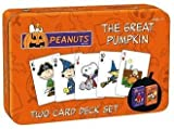 Great Pumpkin Charlie Brown Double Deck Playing Cards