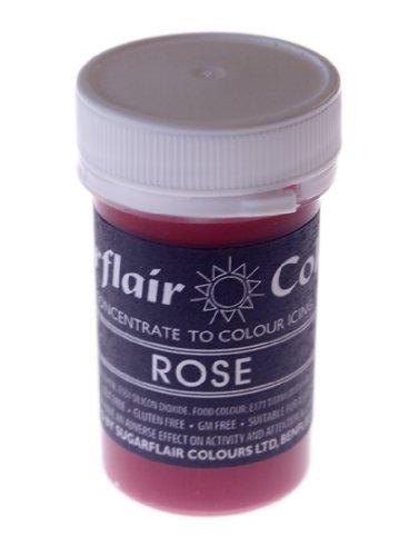 Sugarflair Rose Gel Based Food Colour 25g