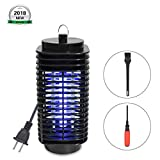 CNSTAR Bug Zapper, New Upgrade Electric Mosquito Fly Killer with Repellent UV Light, Fly Trap Outdoor Indoor for Camping, Home, Backyard, Patio, Garden, Deck