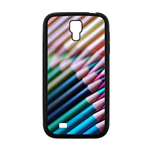 Colorful Pencil Fashion Personalized Clear Cell Phone Case For Samsung Galaxy S4