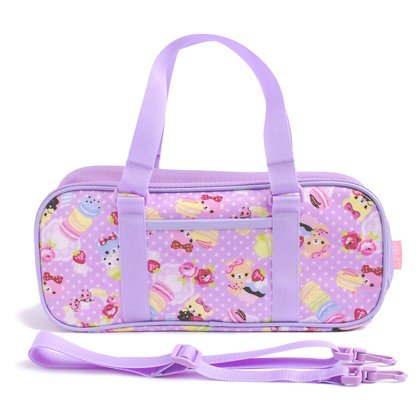 Kids and paint set-Sakura Color polka dot rated on style bear Suite (lilac) made in Japan N2101910 (japan import)