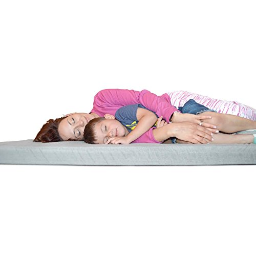 [NEW] Better Habitat SleepReady Memory Foam Floor Mattress (75 x 36''). [Roll out, Portable sleeping pad w/ waterproof cotton terry cover & travel bag] by Better Habitat (Image #2)