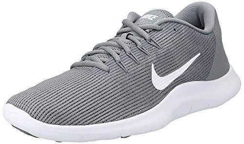 Nike Men's Flex RN 2018 Running Shoes (11 D(M) US, Cool Grey White Cool Grey)