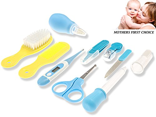 Baby Healthcare And Grooming Kit - Complete Nursery Care Kit For Newborn And Toddler - Baby Care Kit And Medical Delux Kit For Boys And Girls - Safety First Baby Registry And Gift Wrap