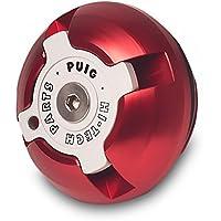 Puig 6158R Tapón Aceite Carter Hi-Tech, Color Rojo