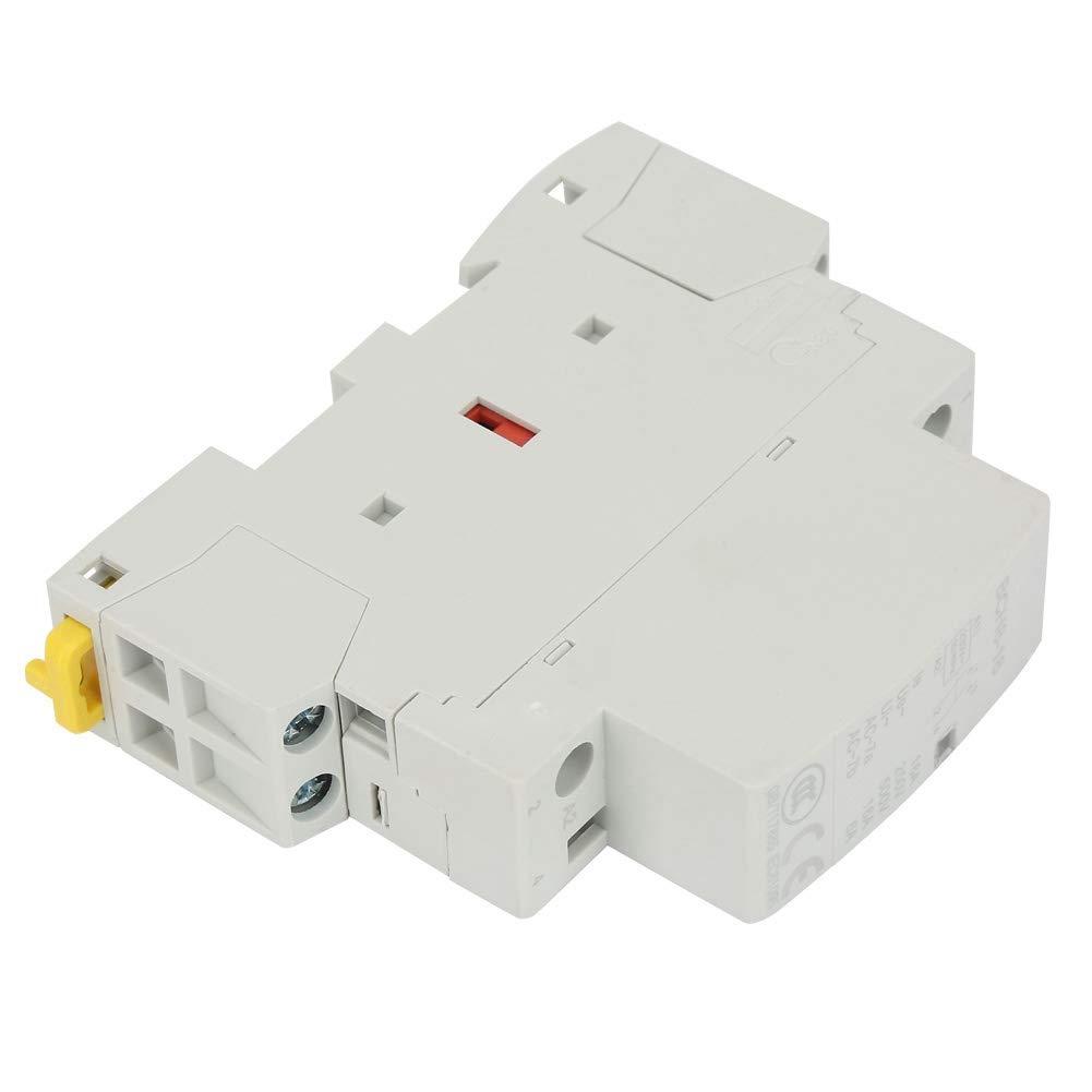 230V Rail DIN m/énage AV Contacteur 4P 20A 2NO 2NC 24V 220V