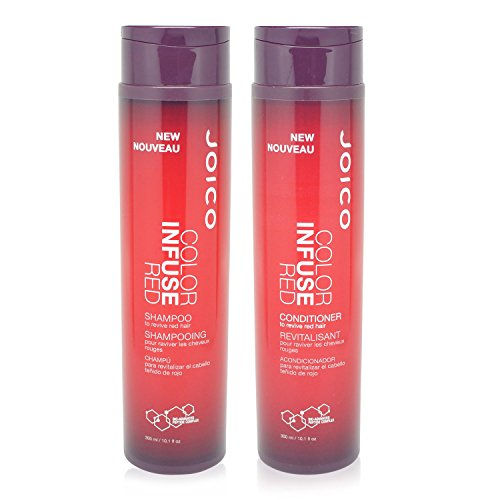 - Joico Color Infusem Red Shampoo 10.1 oz & Color Infusem Red Conditioner 10.1 oz DUO