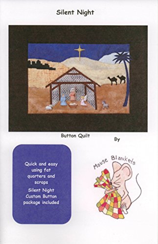 Quilt Kit Pattern Fabric Button - 9