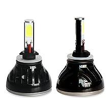Yaheeda 2PC Car CREE LED Headlight Conversion Kit - H13 (9008) - 40W 8,000LM 6,000K