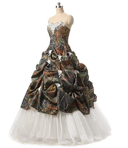 Chupeng nbsp;Camouflage nbsp;Bridal nbsp;Dresses Appliques nbsp;Prom Camo Women's nbsp;Size nbsp;Quinceanera nbsp;Wedding nbsp;Plus rqH4r6